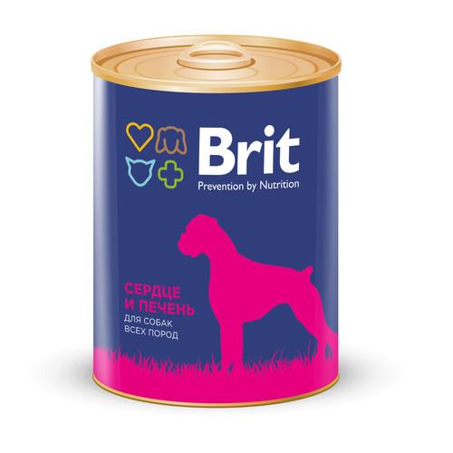 Brit Premium Консервы для собак, Brit Premium, с сердцем и печенью 426e2d6--korm_dlya_sobak_brit_850_g-500.jpg