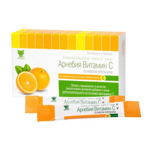 Арнебия Витамин С со вкусом апельсина (в порошке)