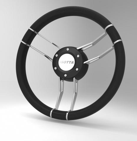 Колесо рулевое Isotta Argo Titanium Black