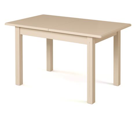 Стол обеденный Соболь деревянный прямоугольный раскладной слоновая кость