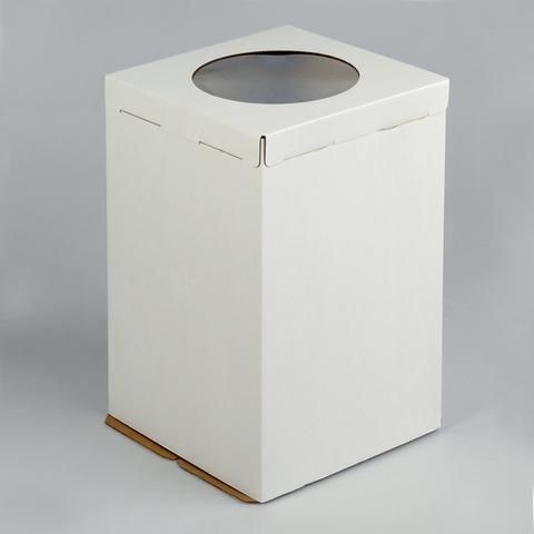 Коробка 30*30*45см с окном