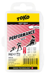Парафин Toko Performance 40 g red, -2°/-11°