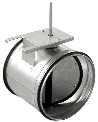 Дроссель-клапан под электропривод ZSK 250 мм