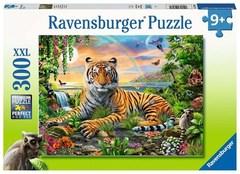 Puzzle Tiger at Sunset 300 pcs