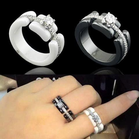 Кольцо Chanel Ceramic