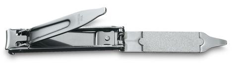 Книпсер Victorinox с пилкой для ногтей и кольцом для ключей, металлический, в чехле