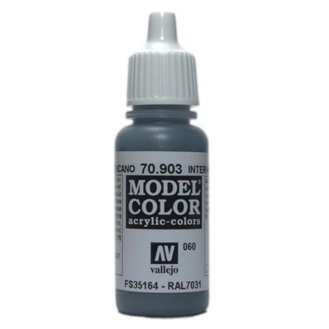 Model Color Blue 17 ml.