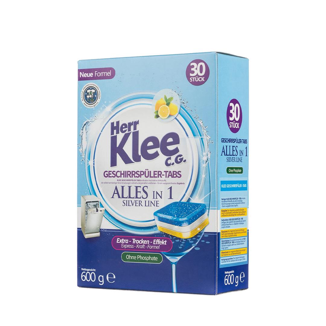 Herr Klee C.G. Dishwasher Tablets Таблетки для посудомоечных машин 600 гр. 30 шт.