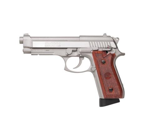 Пистолет пневматический Swiss Arms SA92 серебристый (Beretta92) Арт. 288511