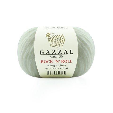 Пряжа Gazzal Rock n Roll 13733 белый снег