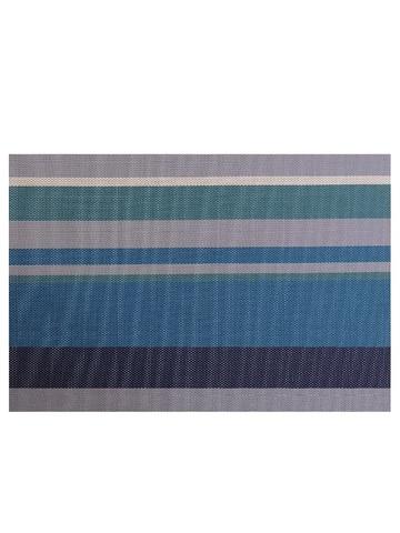 Термосалфетка кухонная плейсмат Dutamel салфетка сервировочная синие полосы DTM-004 45*30 см - 1 шт