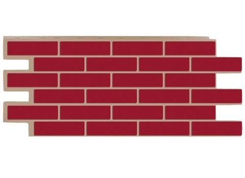 Фасадная панель Керамит - Красный