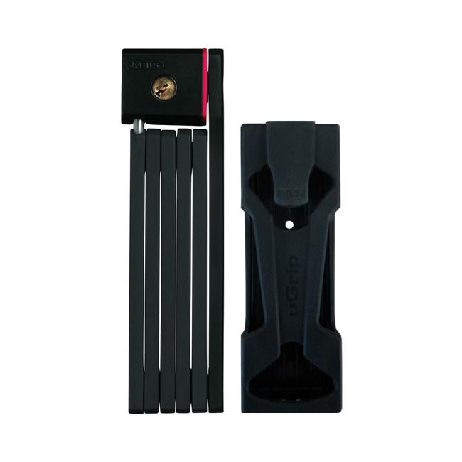 Замок вело ABUS BORDO uGrip 5700/80 черный Тип: складной сегментный с ключом Уровень защиты: 7/15