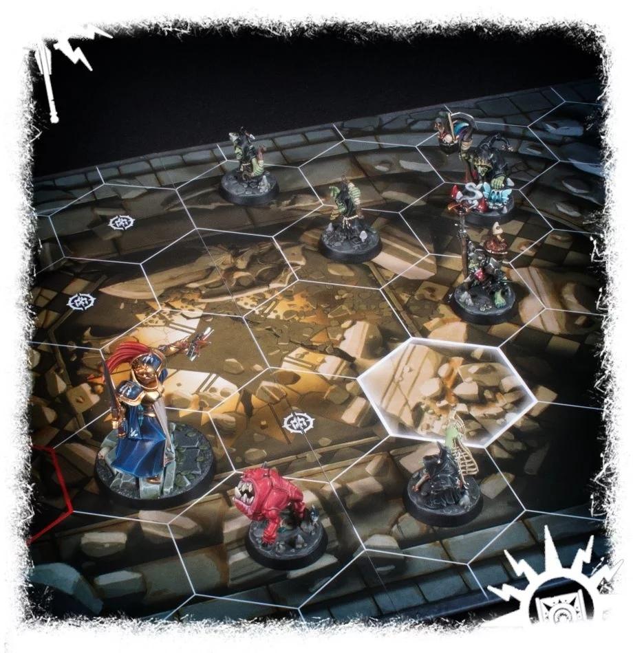 Warhammer Underworlds: Nightvault – Forbidden Chambers Board Pack