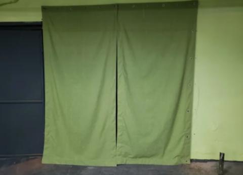 Завеса брезентовая