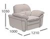 Кресло Неаполь (схема)