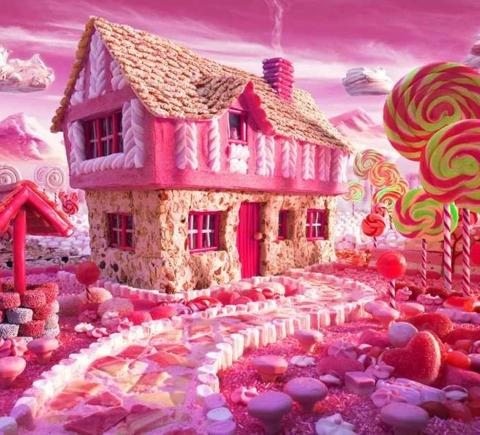 Алмазная Мозаика 20x30 Розовая мечта (арт. S3202)