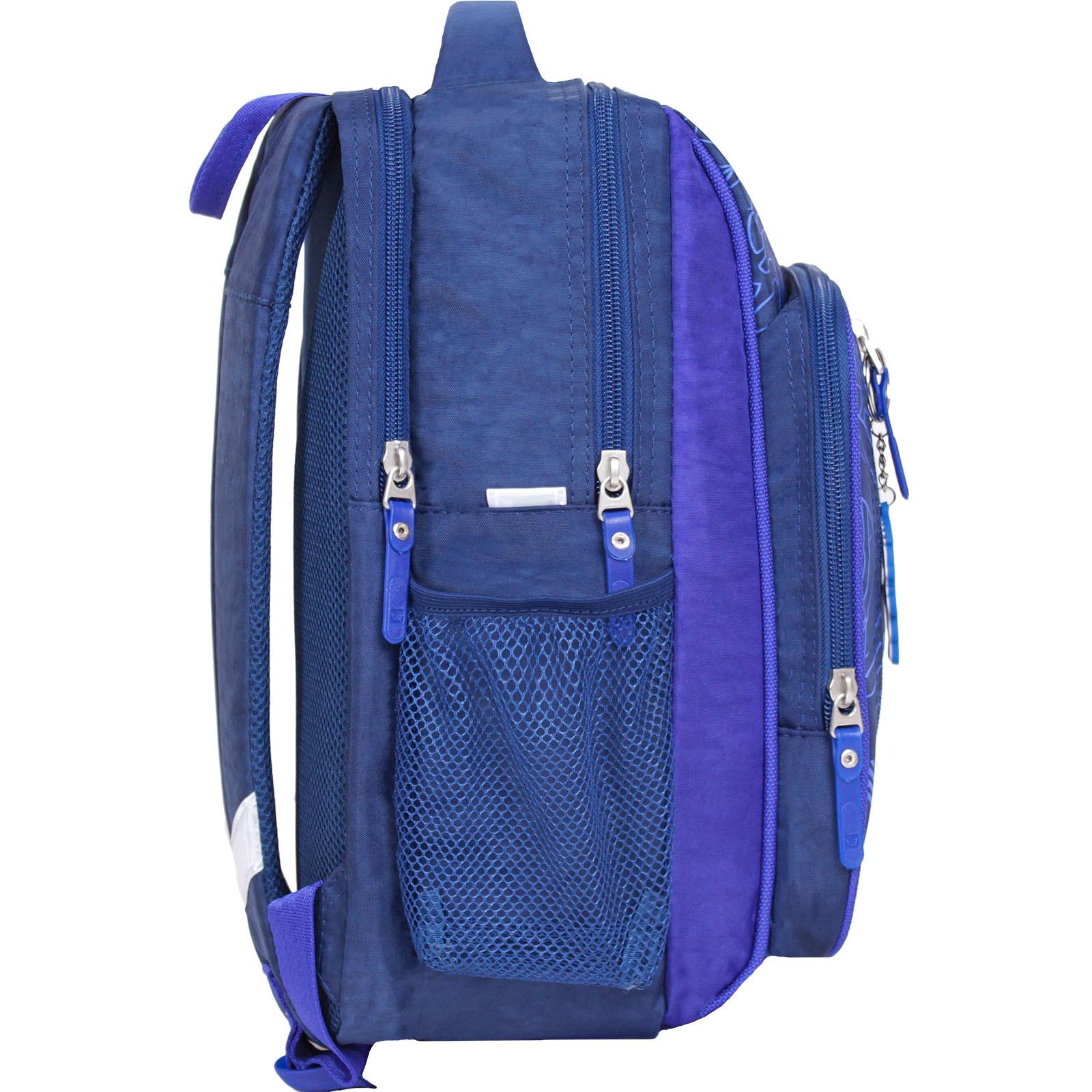 Рюкзак школьный Bagland Школьник 8 л. синий 248 (0012870)