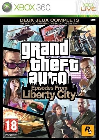 Grand Theft Auto: Episodes From Liberty City (Xbox 360, английская версия)