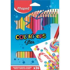 Карандаши цветные Maped Color'peps 36 цветов трехгранные