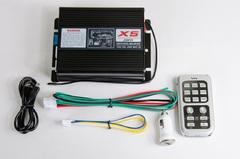 Усилитель Viper ESAS-928 200w ( Микрофон+голос X-5) пульт хром
