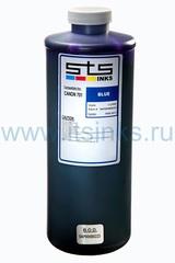 Пигментные чернила STS для HP Blue 1000 мл