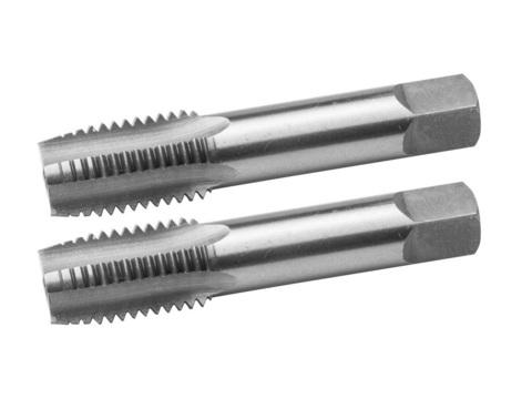 ЗУБР М12x1.75мм, комплект метчиков, сталь 9ХС, ручные, 4-28006-12-1.75-H2