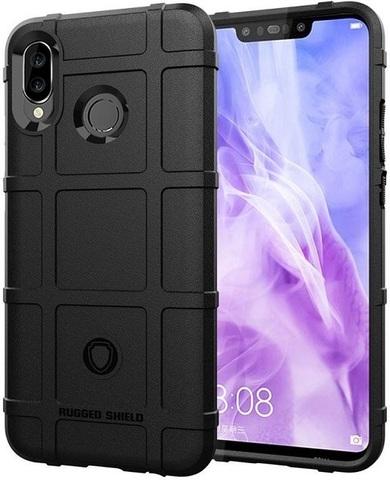 Чехол Huawei Nova 3 цвет Black (черный), серия Armor, Caseport
