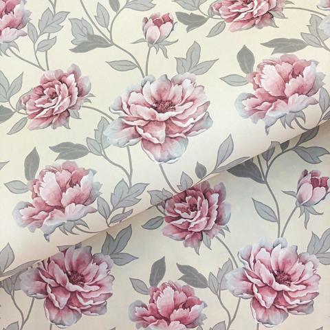 Бумага подарочная декоративная Нежная роза