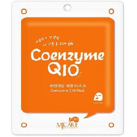 Mijin CARE Маска тканевая с коэнзимом Q10 Coenzyme Q10 Mask, 1 шт