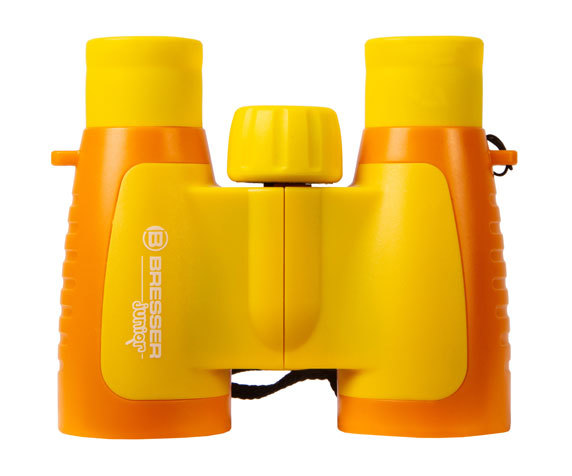 Бинокль детский Bresser Junior 3x30 желтый - фото 3 - Roof призмы