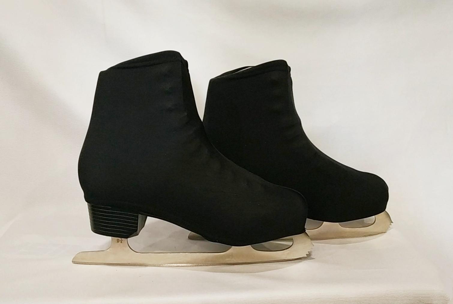 Чехлы на ботинки с застёжкой (чёрные)