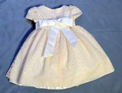 Нарядное платье Angelokids (бежево-розовое)