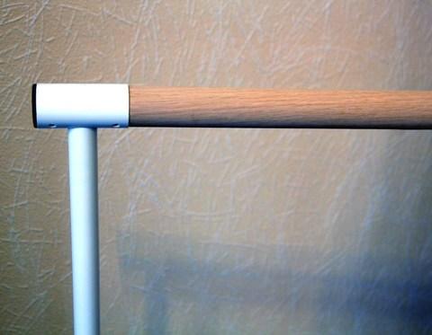 Станок хореографический напольный, однорядный (2,0м.) поручень - сосна