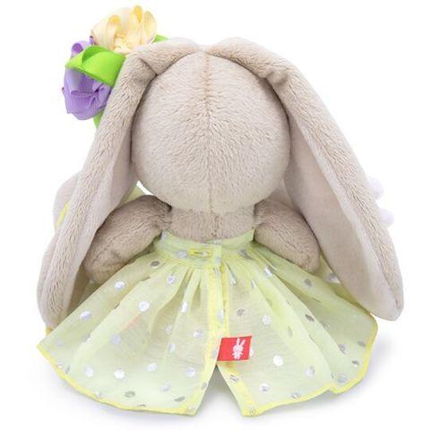 Зайка Ми с зайчиком и нарядным цветком