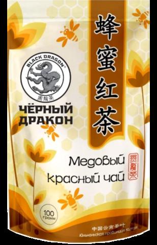 Чай красный Black dragon Медовый 100 г