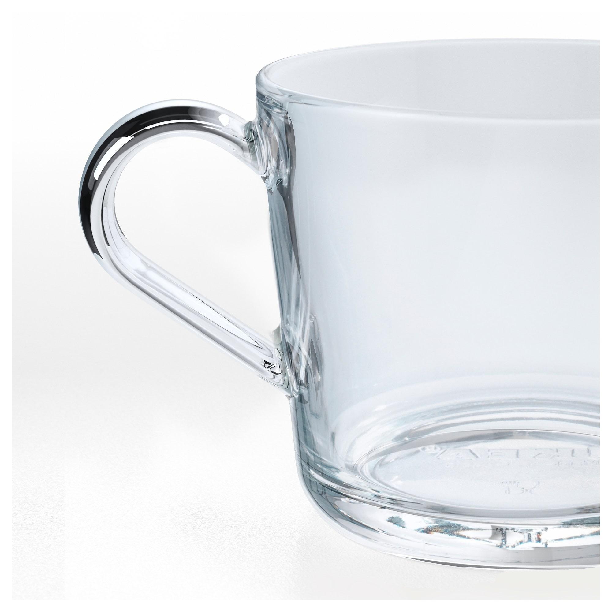 ИКЕА/365+ Кружка прозрачное стекло