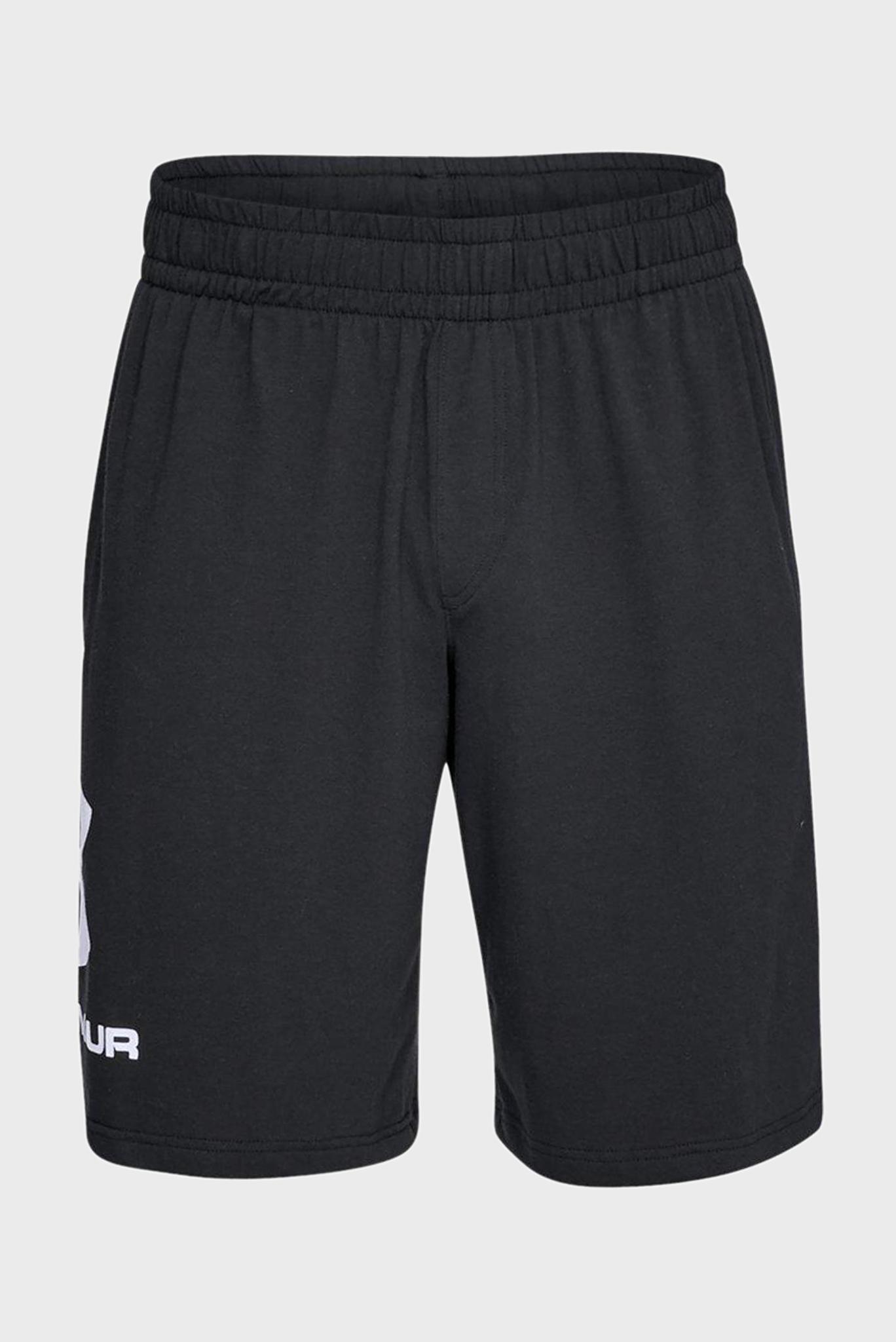 Мужские черные спортивные шорты SPORTSTYLE Under Armour