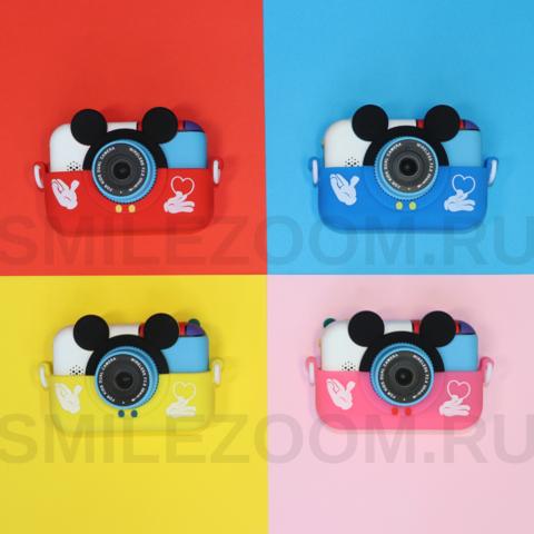 Детский фотоаппарат SmileZoom Микки с Wi-Fi / В ассортименте