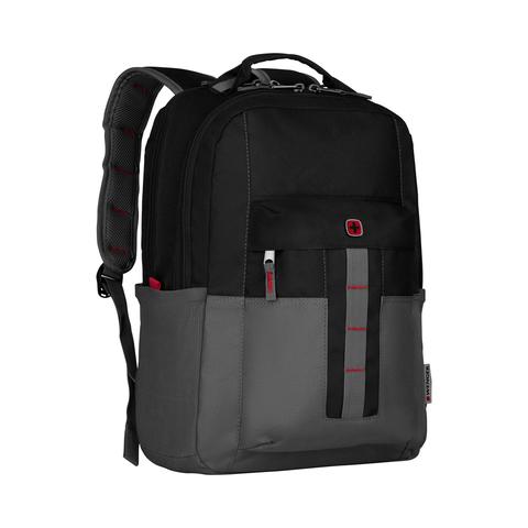 Городской рюкзак чёрно-серый 20 л WENGER Ero Pro 601901