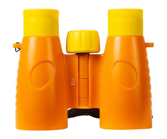 Бинокль детский Bresser Junior 3x30 желтый - фото 4 - барабан фокусировки
