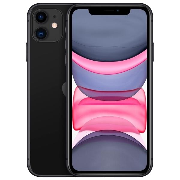 Новый Apple iPhone 11 64 ГБ Черный (обменка ростест)