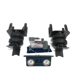 Nissan Navara D40 пневмоподвеска задней оси + система управления 2 контура (без ресивера)