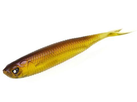 Виброхвост LJ 3D Series Makora Split Tail 4.0in (10 см), цвет 004, 6 шт.