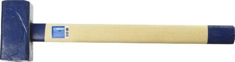 Кувалда СИБИН 6 кг с деревянной удлинённой рукояткой