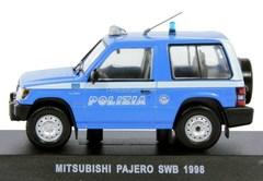 Mitsubishi Pajero SWB 1998 Italian 1:43 DeAgostini World's Police Car #S4