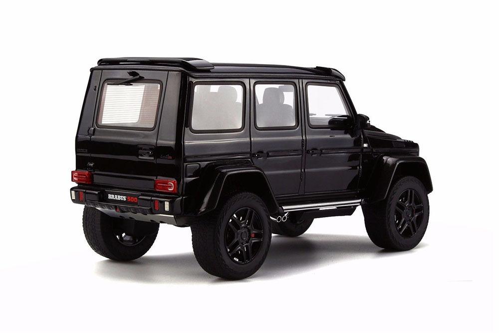 Коллекционная модель MERCEDES-BENZ W463 G-CLASS G500 4X4 2016 BLACK
