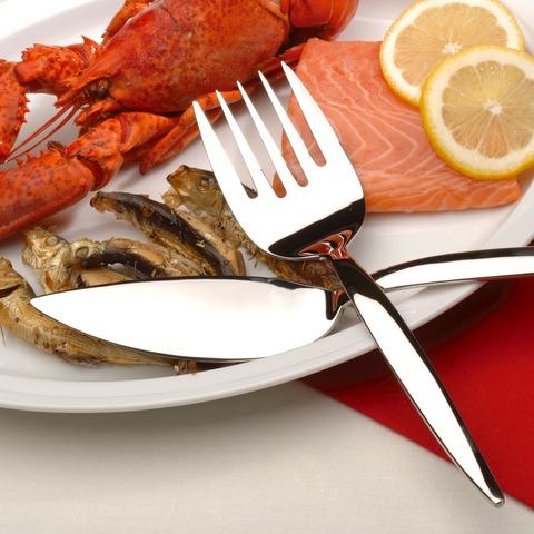 Набор 12пр ножей для сервировки рыбы Saxophone