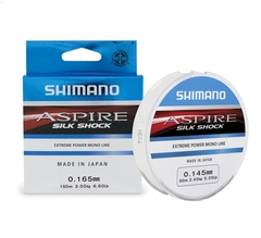 Леска SHIMANO Aspire Silk Shock 50м прозрачная 0,08мм 0,7кг