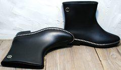 Модные женские резиновые сапоги Hello Rain Story 1019 Black.